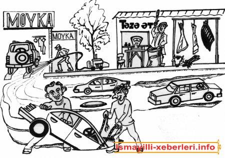 Karikaturalar Yusif Həsənovundur