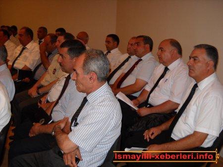 İsmayıllı rayon İcra Hakimiyyətinin başçısı N.H.Ələkbərovun məruzəsi