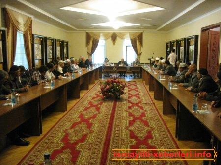 Dini icma sədrləri və dini ayinlərin icraçıları ilə görüş