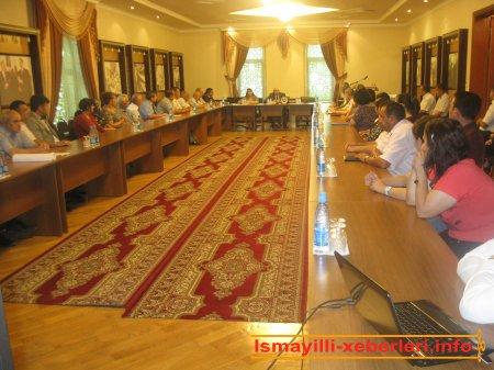 Mədəniyyət və turizm işçilərinin toplantısı