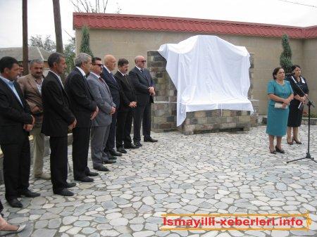 Şəhid xatirəsi bulaq-abidə ilə əbədiləşdi
