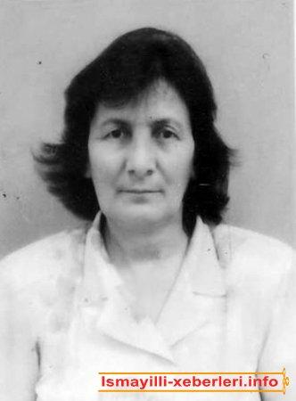 Bağıyeva Ayna Sarxan qızı