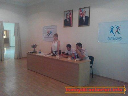 İsmayıllı Rayon Tarix-Diyarşünaslıq Muzeyində seminar