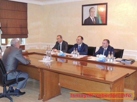 DSMF-nin sədri regional qəbul keçirib