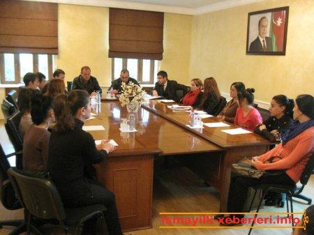 Aktiv gənclərin toplantısı